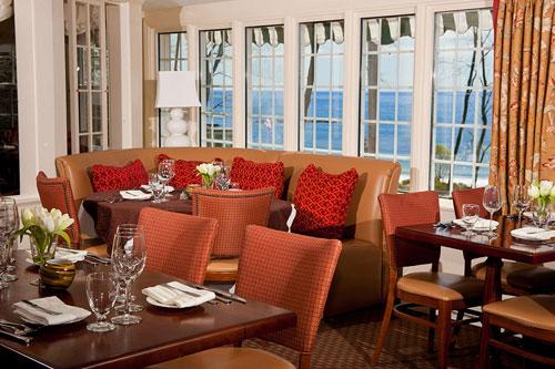 Living Room York restaurant - oceanfront dining york harbor inn - york harbor