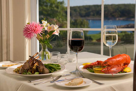 Ocean View Dining Lobster Dinner