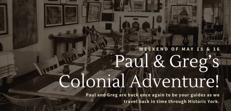 Key image for: Paul & Greg's Colonial Adventure!