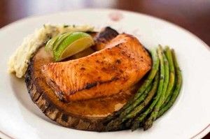 Maple Plank Roasted Salmon